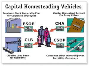 Capital Homesteading Vehicles (ESOP, CSOP, CHA, CSOP)