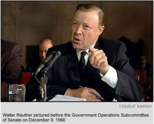 UAW President Walter Reuther